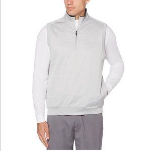 PGA Tour Water Repellent Fleece 1/4 ZIp Vest